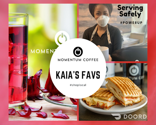 Making of Momentum Coffee Coworking Chicago TM – Kaia's Faves - April 5, 2021
